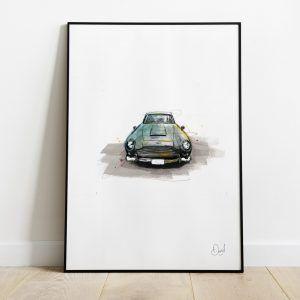 Aston Martin DB5 - Shaken and stirred