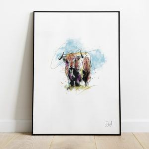 The Hairy Coo - Highland Cow