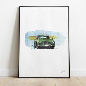 Aston Martin DB5 Verde