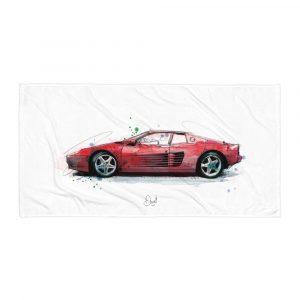 Ferrari Testarossa , Towel