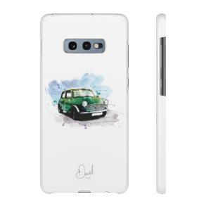 Mini, Racing Green  –  Mobile phone case