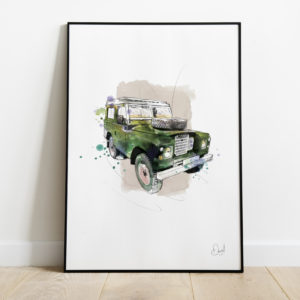 Land Rover Defender - The last defence - Green