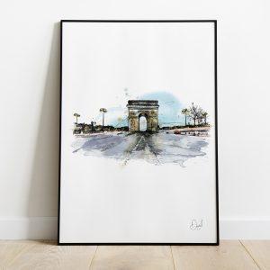 Paris - Arc de Triomphe - Triomphe is ours