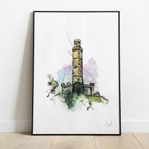 Edinburgh - The Nelson Monument
