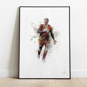 Liverpool  FC - Virgil van Dijk